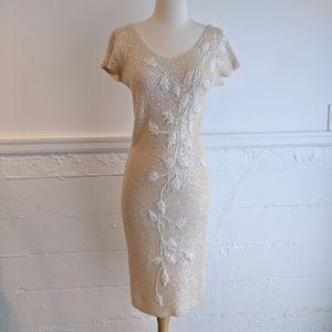 Gene Shelley • Vintage Hand Beaded Dress